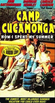 Camp Cucamonga 1990 movie poster