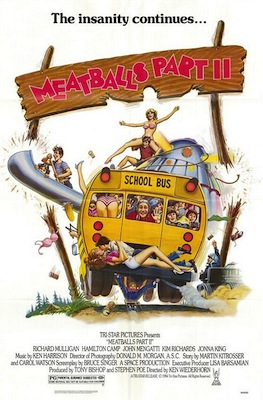 meatballs part ii movie poster