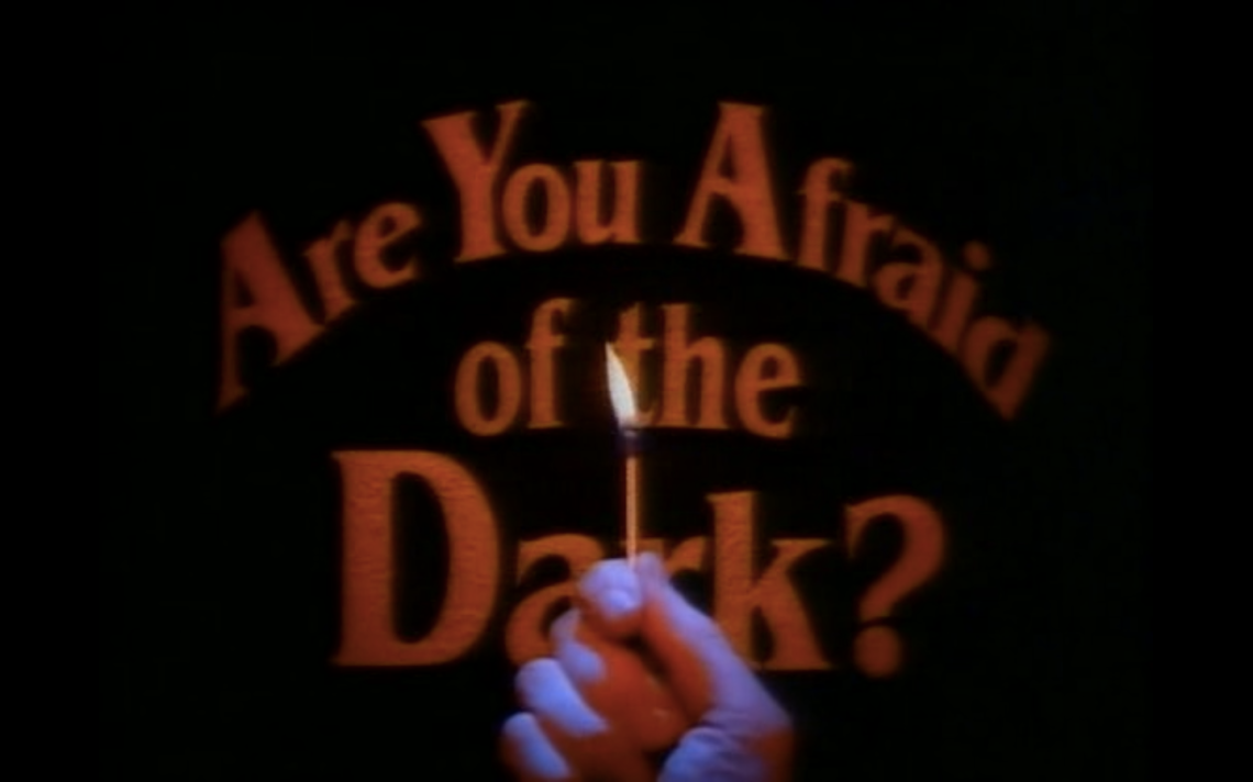 are you afraid of the dark logo title card