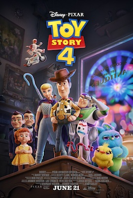 toy story 4 movie poster antique shop