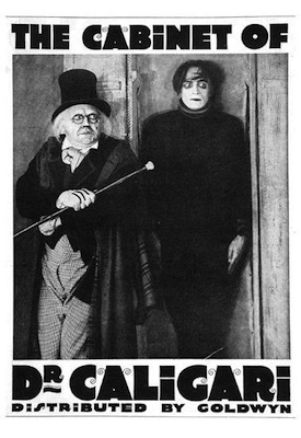 the cabinet of dr. caligari 1920 movie poster