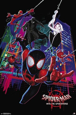 into the spider verse movie poster