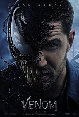 venom 2018 movie poster
