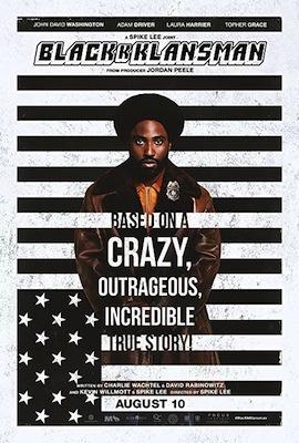 blackkklansman 2018 movie poster