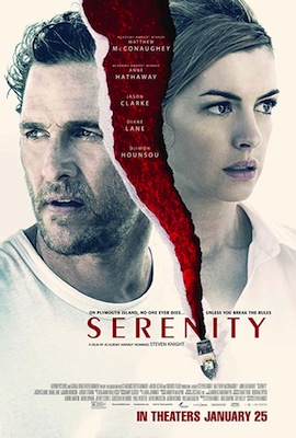 serenity 2019 movie poster