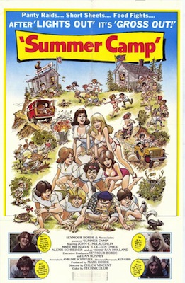summer camp 1979 movie poster