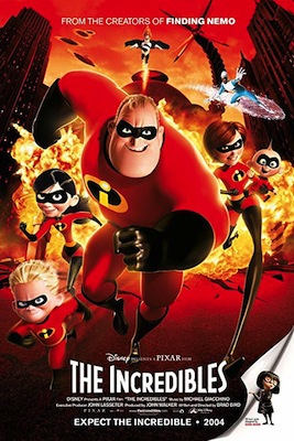 the incredibles 2004 movie poster