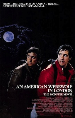 an american werewolf in london 1981 poster