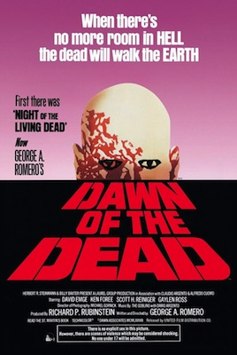 dawn of the dead 1978 movie poster