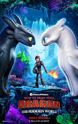 How To Train Your Dragon: The Hidden World movie poster 2019