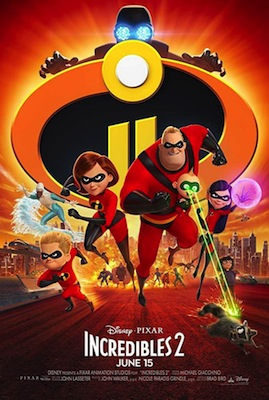 incredibles 2 movie poster 2018