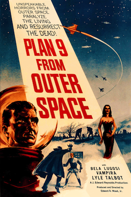 plan 9 from outer space 1959 movie poster