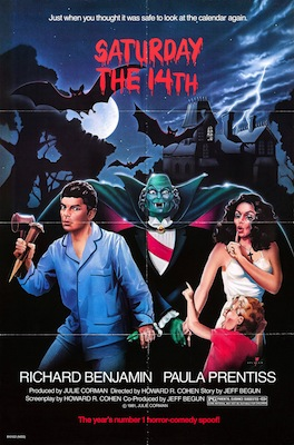 saturday the 14th 1981 movie poster