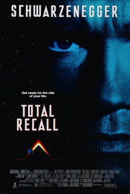 total recall 1990 movie poster