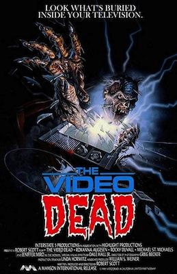 video dead 1987 poster