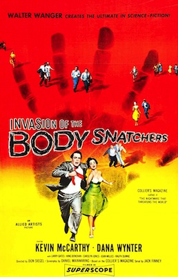 Invasion of the Body Snatchers 1956 movie poster