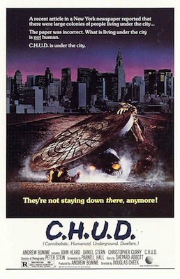chud 1984 movie poster