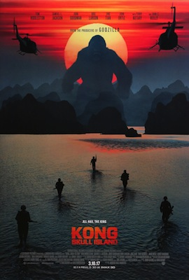 kong skull island 2017 movie poster