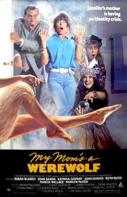 My Mom's A Werewolf 1989 movie poster