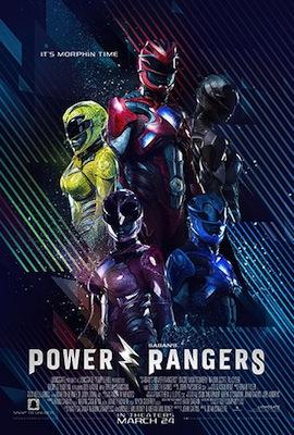 power rangers 2017 movie poster