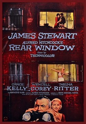 rear window 1954 movie poster