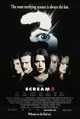 scream 3 2000 movie poster