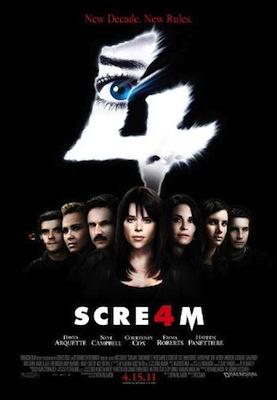 scream 4 2011 movie poster
