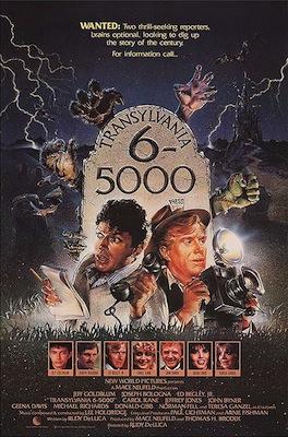 Transylvania 6-5000 1985 movie poster