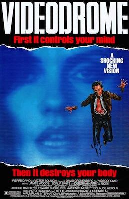 videodrome 1983 poster