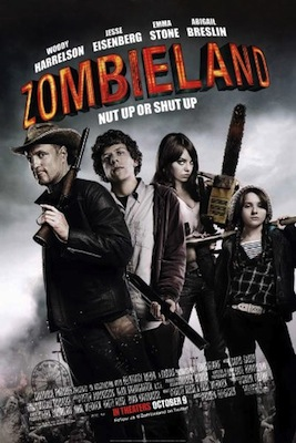 zombieland 2009 movie poster