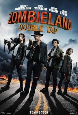 Zombieland: Double Tap 2019 movie poster
