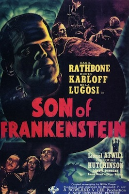 Son of Frankenstein 1939 poster