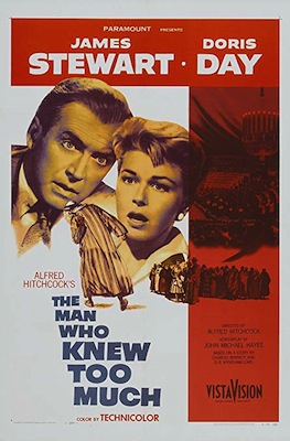 The Man Who Knew Too Much 1956 poster