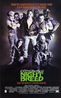 nightbreed 1990 movie poster