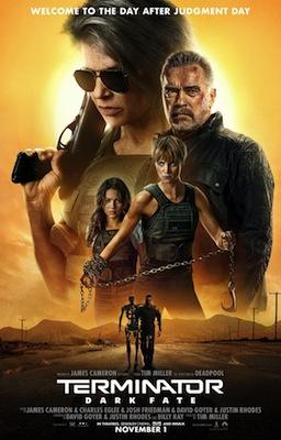 Terminator: Dark Fate 2019 movie poster