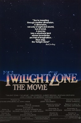 Twilight Zone: The Movie 1983 poster