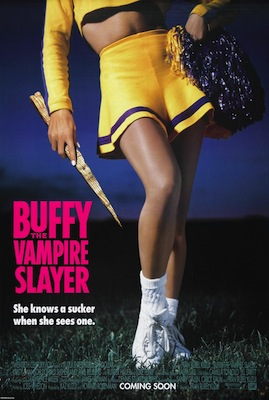 Buffy the Vampire Slayer 1992 poster