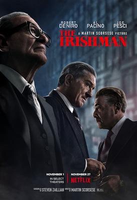 the irishman 2019 movie poster