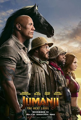 jumanji the next level 2019 poster