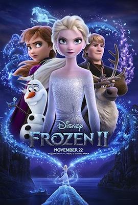 Frozen II 2019 movie poster