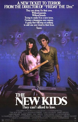 the new kids 1985 movie poster