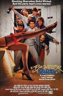 bachelor party 1984 movie poster