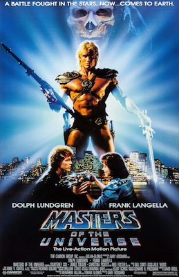 masters of the universe 1987 movie poster