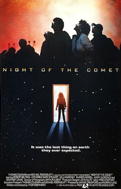 night of the comet 1984 poster