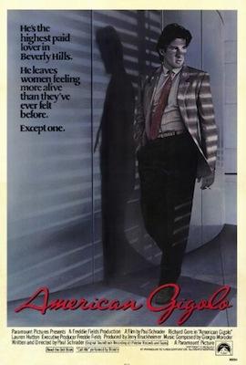 american gigolo 1980 poster