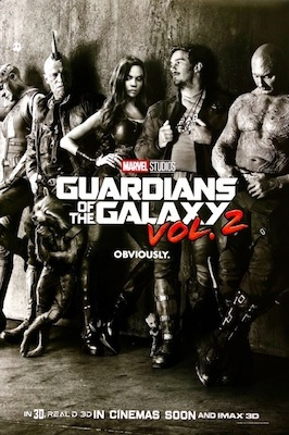guardians of the galaxy vol 2 2017 poster