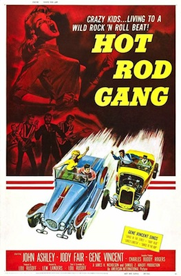 hot rod gang 1958 movie poster