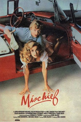 mischief 1985 movie poster