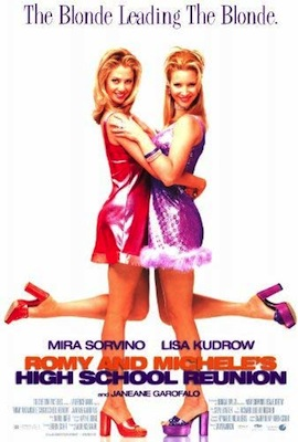 romy and michele's high school reunion 1997 movie poster