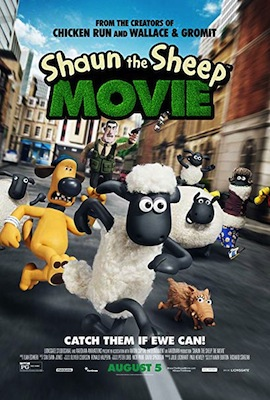 shaun the sheep movie poster 2015